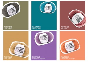 Organic Wool in Pantone fall 2015 colors