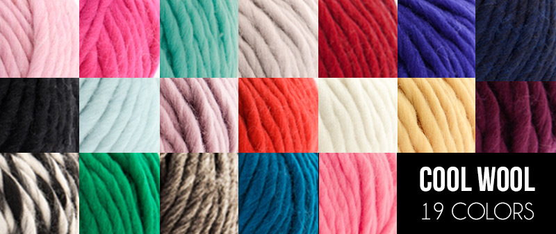Bettaknit's Cool Wool colors