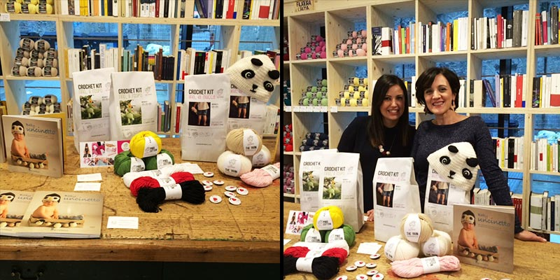 Bettaknit and Samanta Fornino tour Parma