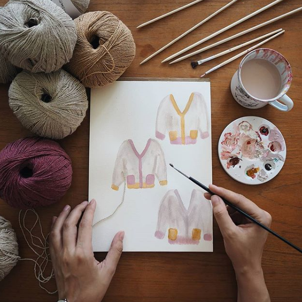 Instagram Maker: Bettaknit's interview with @Hereinternest
