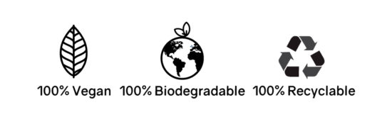 jute is 100% vegan, biodegrable and recyclabe